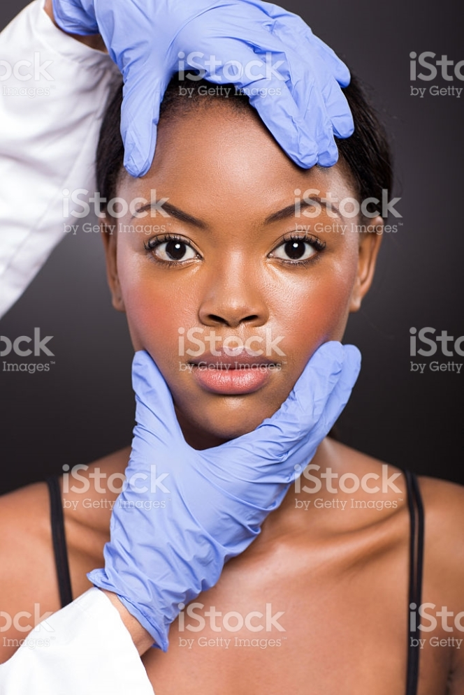 cosmetic doctor skin check after plastic surgery